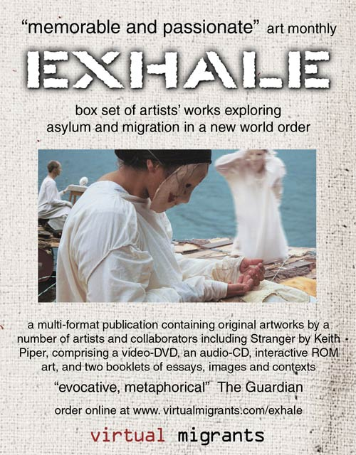 EXHALE box set of DVD, audio-CD, booklets